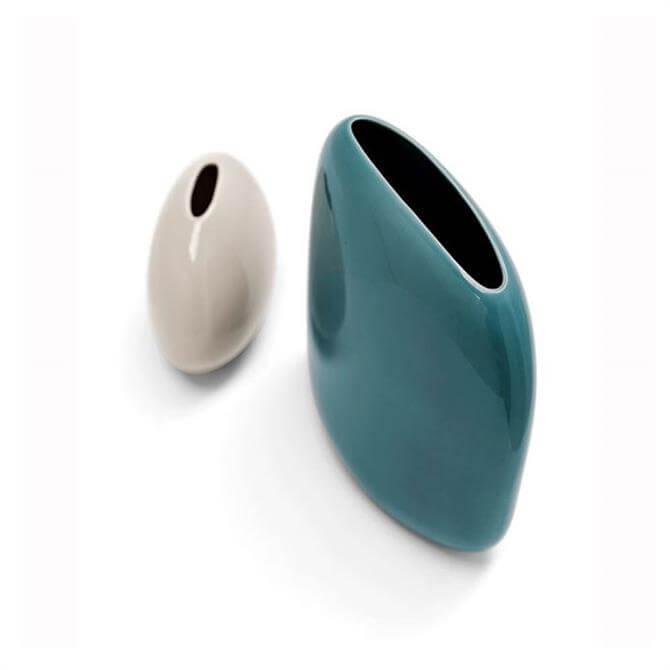 Calligaris Ceramic Vase Ocean Green