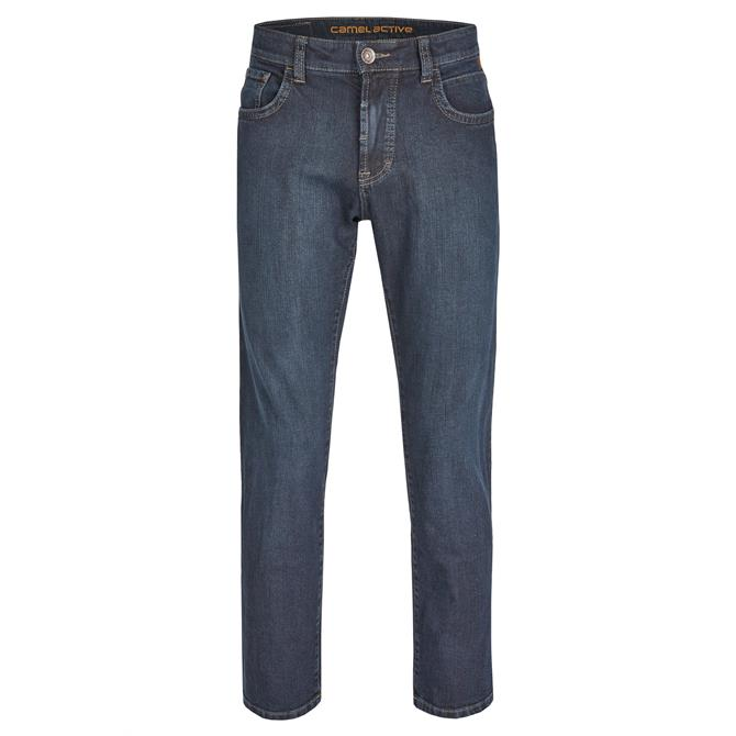 Camel Active Men's Straight Leg Woodstock Jeans