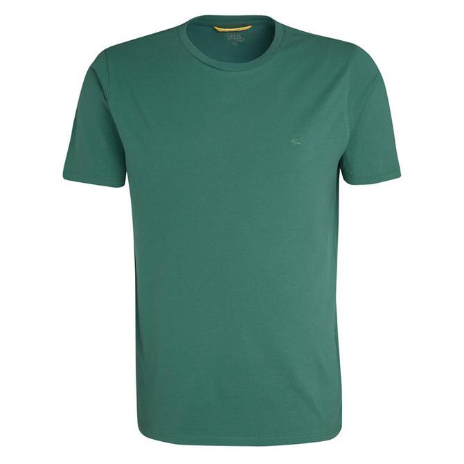 Camel Active Men's Classic Plain Short Sleeve T Shirt SS19