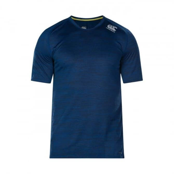 Canterbury Men's VapoDri Rugby Drill T Shirt-Estate Blue