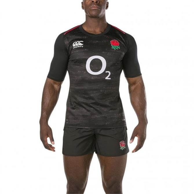 Canterbury Men's England Vapodri Alterntive Pro Jersey- Anthracite