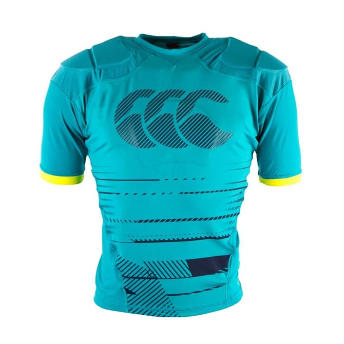 Canterbury Men's Capodri Raze Rugby Body Protection- Carribean Sea