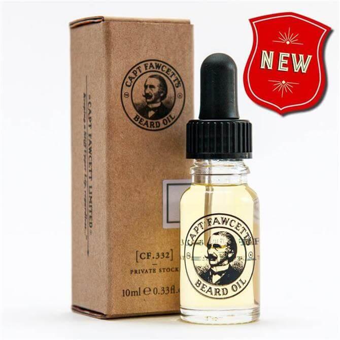 Captain Fawcett Beard Oil Private Stock 10ml