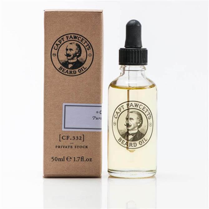 Captain Fawcett Beard Oil Private Stock 50ml