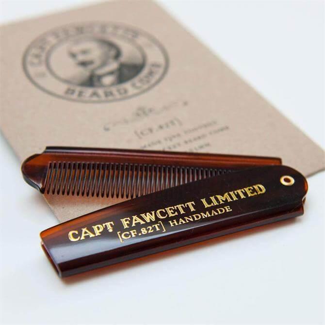 Captain Fawcett Beard Pocket Comb