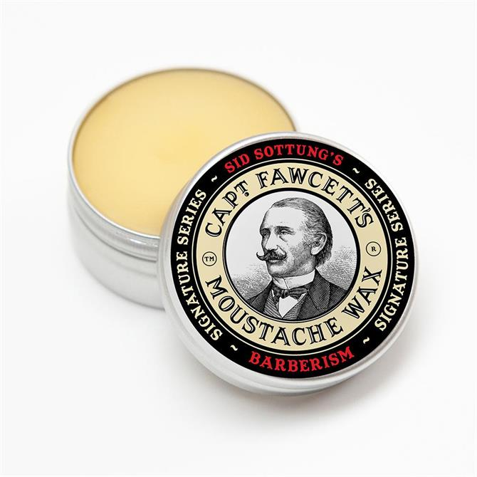 Captain Fawcett Barberism Moustache Wax 15ml