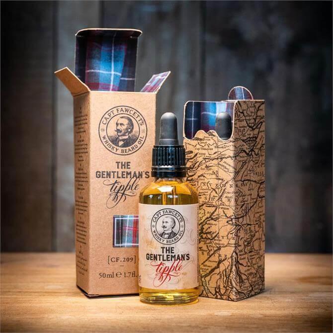 Captain Fawcett Whisky Beard Oil 50ml