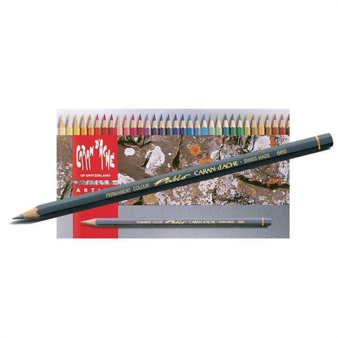 Caran D'Ache Pablo Pencils - Assorted