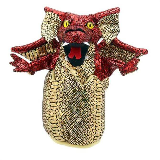 Puppet Company Baby Red Dragon in Egg