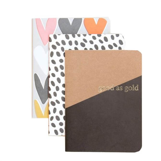 Caroline Gardner Kraft Notebook Set