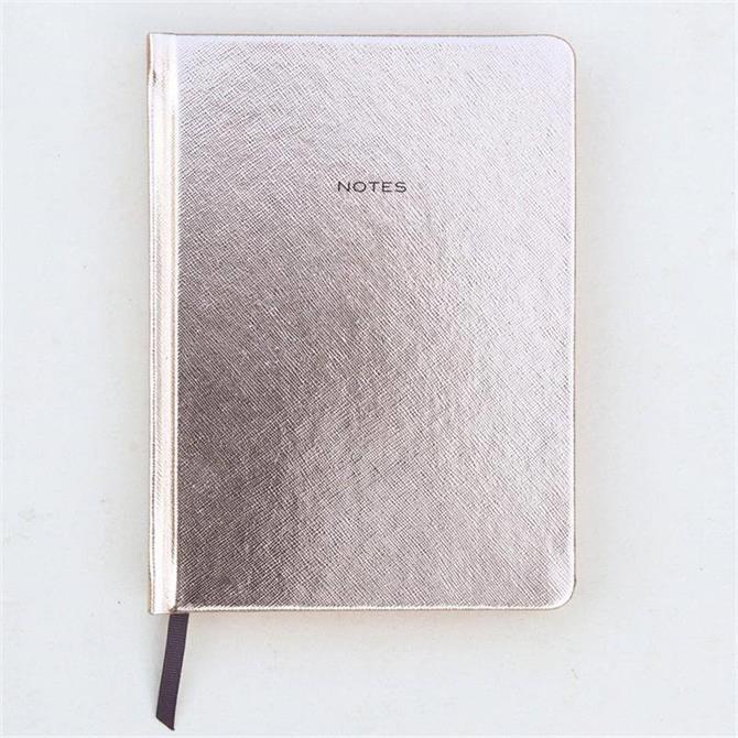Caroline Gardner Rose Gold Hardback Notebook