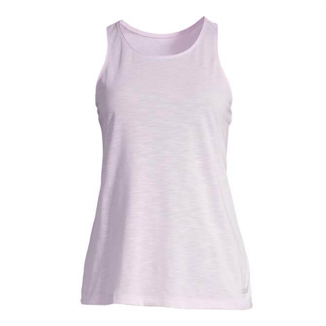 Casall Women's Textured Loose Racerback Fitness Tank - Lavender