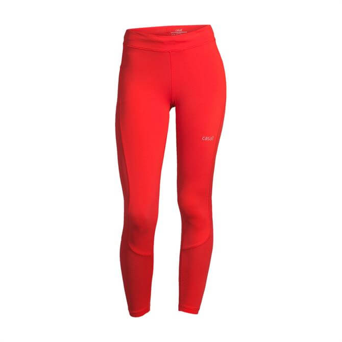 Casall Women's Iconic 7/8 Yoga Tights - Sunset Red