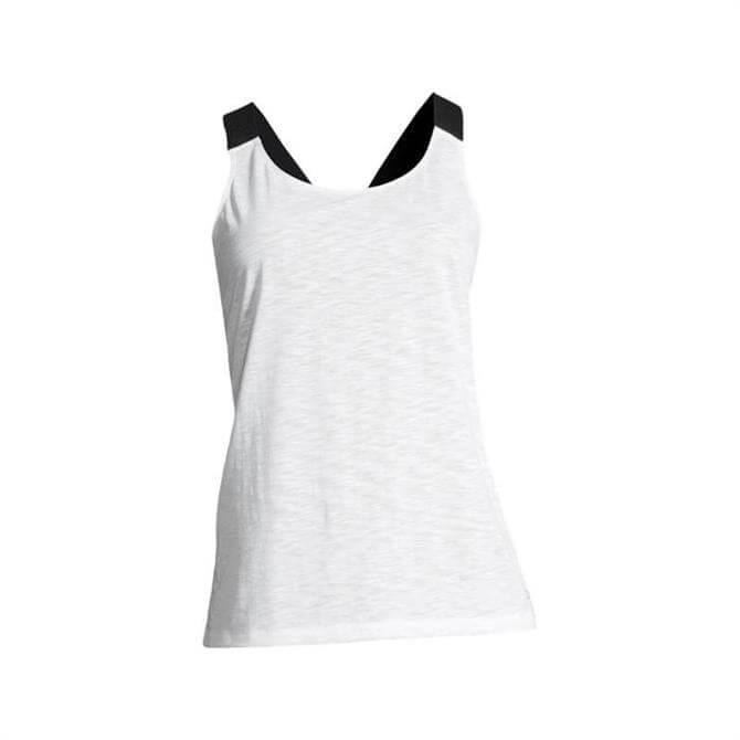 Casall Women's Raw Elastic Racerback- White