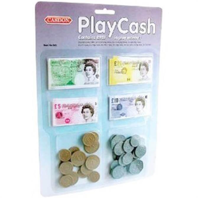 Casdon Play Cash Pretend Money