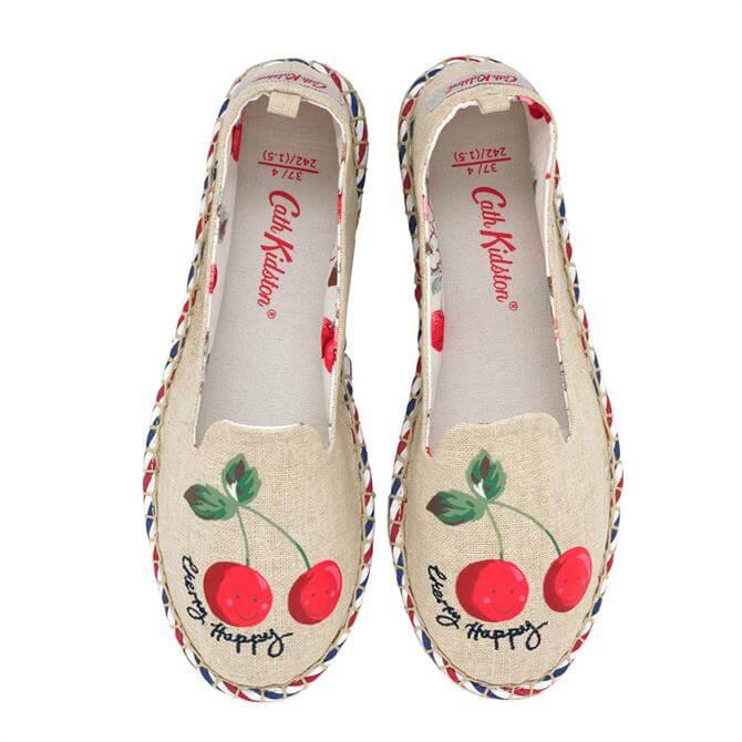 Cath Kidston Cherry Espadrilles