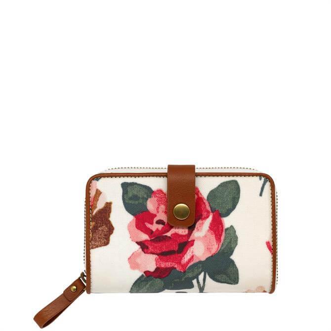 Cath Kidston Chiswick Rose Zip Wallet