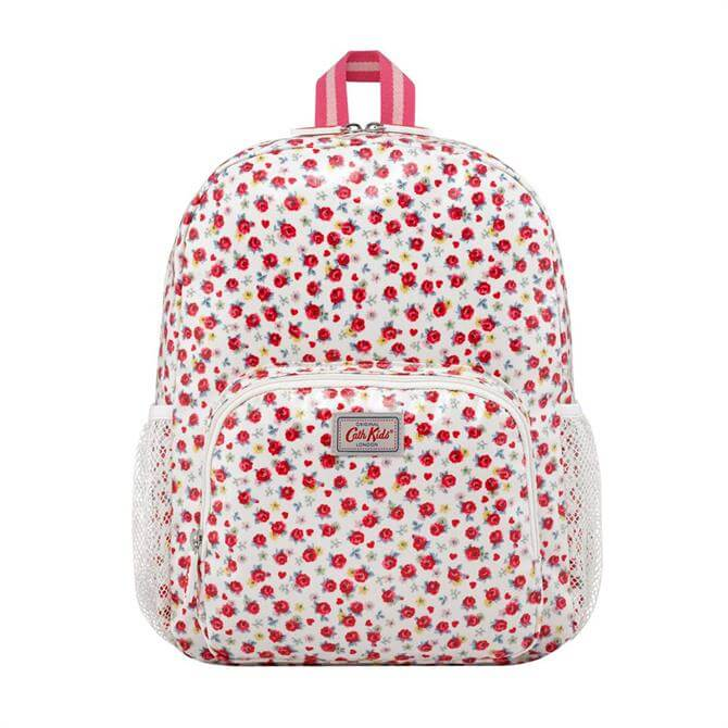 Cath Kidston Kids Classic Large Roses and Hearts Rucksack