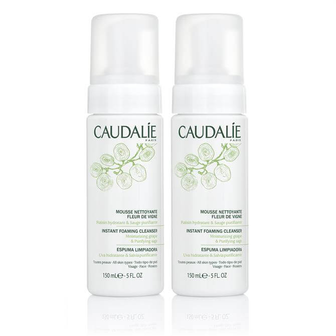 Caudalie Instant Foaming Cleanser Duo 2 x 150ml