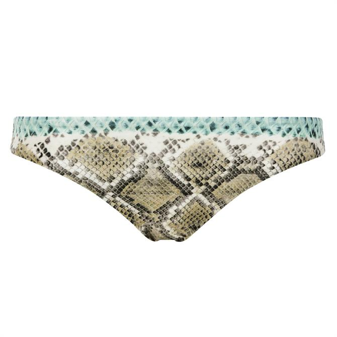 Chantelle Jungle Earth Python Bikini Bottom