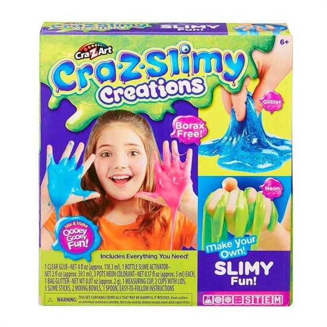 Character Options Cra-Z Slimy Fun Neon Glitter