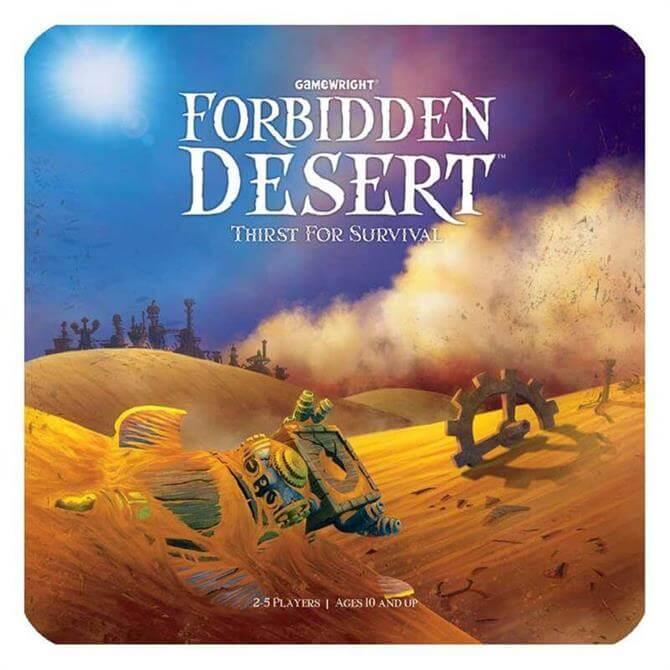 Coiled Spring Games Forbidden Desert