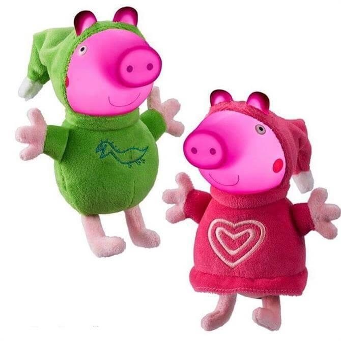 Glow Friends Peppa Pig & Friends Assorted