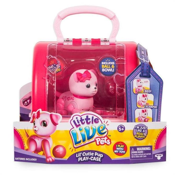 Little Live Pets Lil Cutie Puppy Playcase