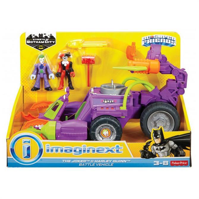 Mattel Imaginext The Joker Claw Vehicle