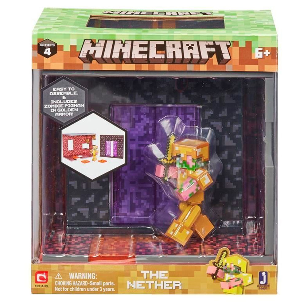 An image of Minecraft Biome Play Sets