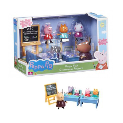 An image of Character Options Peppa Pig Classroom