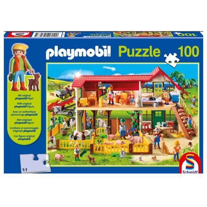 Playmobil Farm Puzzle 100-piece Jigsaw