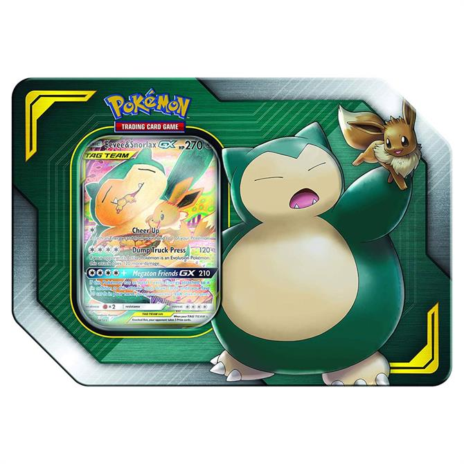 Pokémon Eevee & Snorlax GX Tag Team Tin