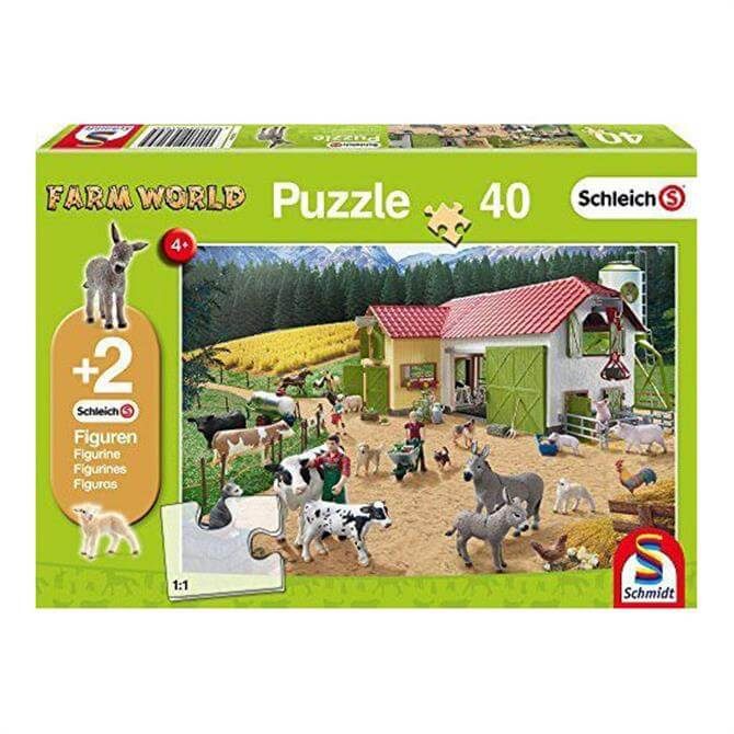 Schleich A Day at the Farm Jigsaw