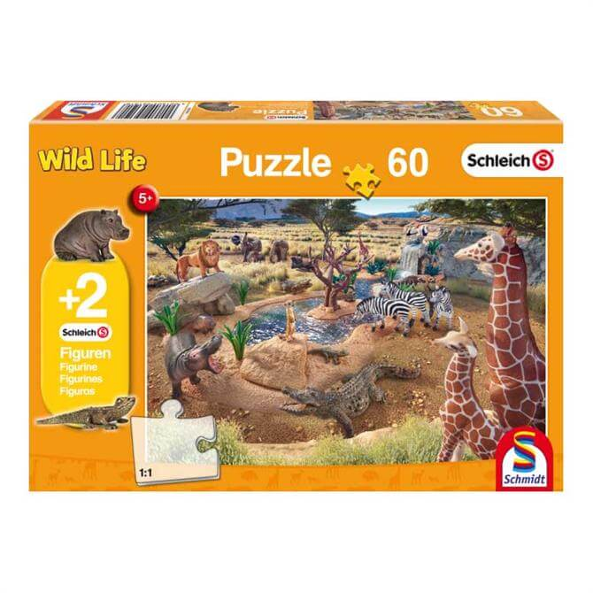 Schleich At the Watering Hole Jigsaw