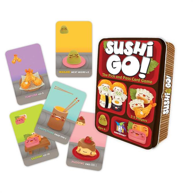 Coiled Spring Games Sushi Go!