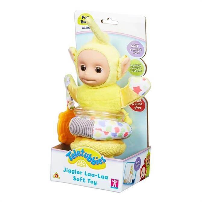 Teletubbies Jiggler Laa Laa Soft Toy