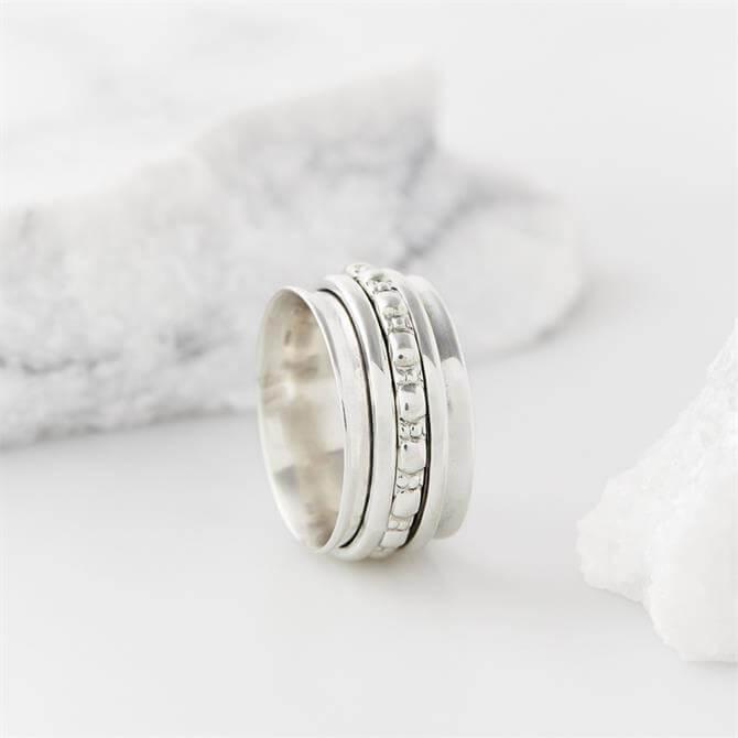 Charlotte's Web Maharani Silver Spinning Ring