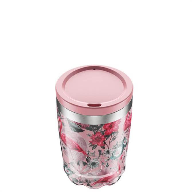 Chilly's Bottles Tropical Flamingo 340ml Coffee Cup