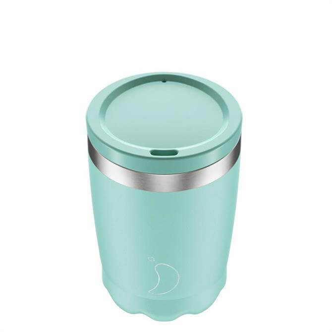 Chilly's Bottles Pastel Green 340ml Coffee Cup
