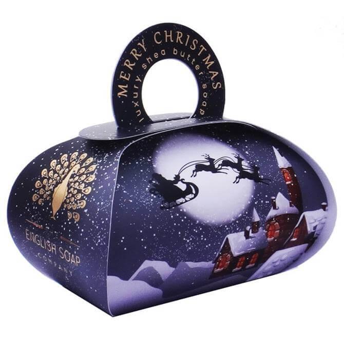 The English Soap Company Christmas Large Gift Bag Soap 250g