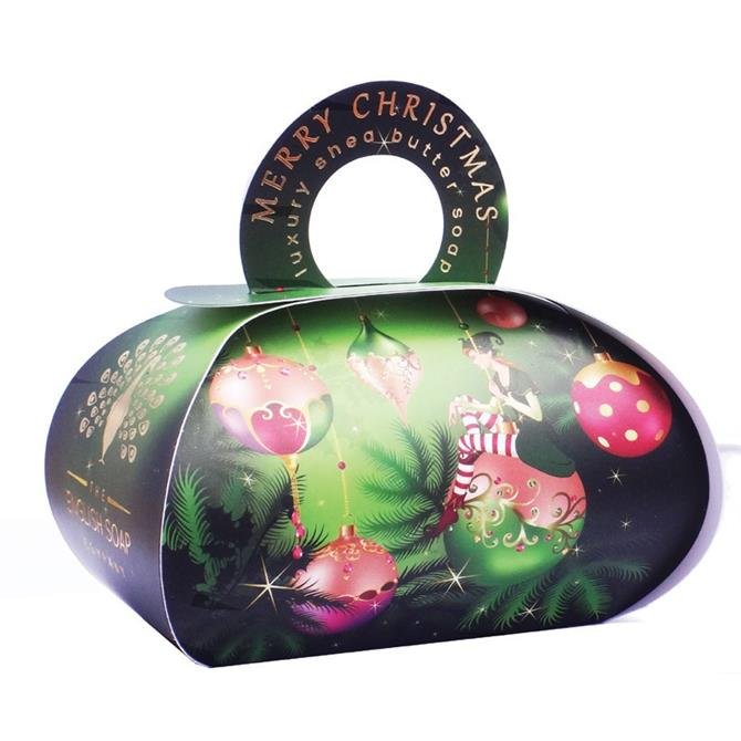 The English Soap Company Christmas Large Gift Bag Soap 250g