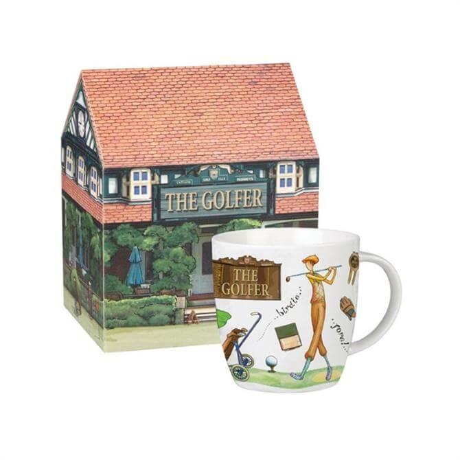 Churchill At Your Leisure Sports Gift Mug