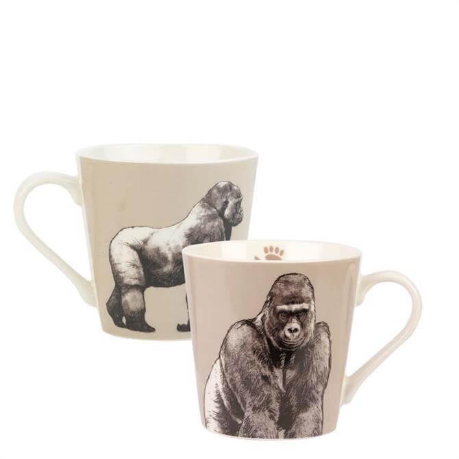 Churchill Couture Kingdom Gorilla Mug