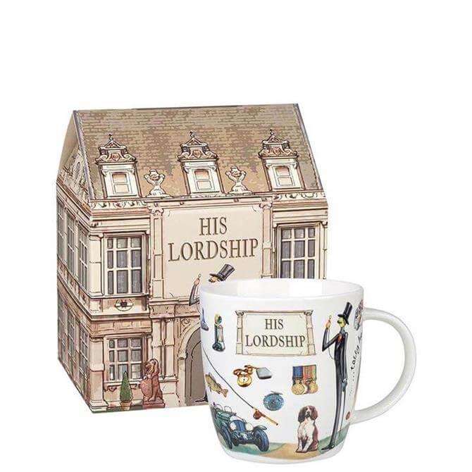 Churchill At Your Leisure His Lordship Mug