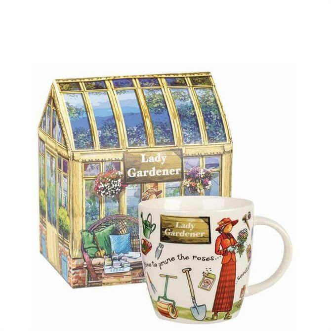 Churchill At Your Leisure Lady Gardener Mug