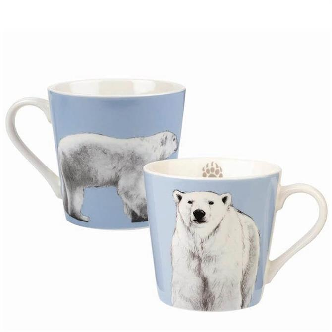 Churchill Couture Kingdom Polar Bear Mug