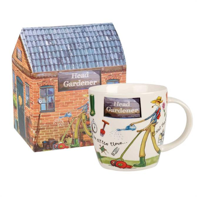 Churchill At Your Leisure Head Gardener Mug