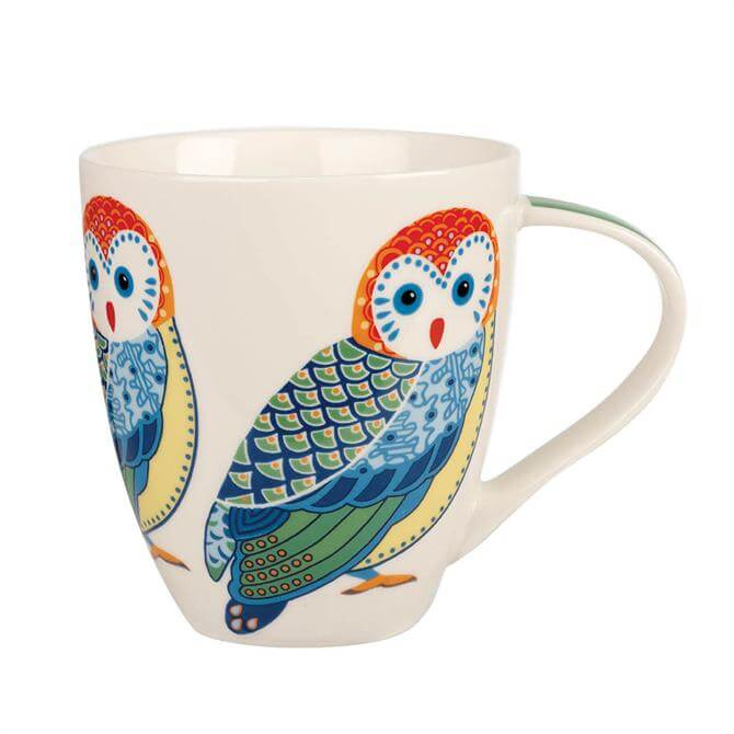 Churchill Paradise Birds Owls Crush Mug
