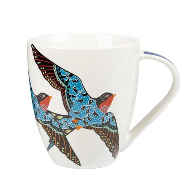 Churchill Paradise Birds Swallows Crush Mug